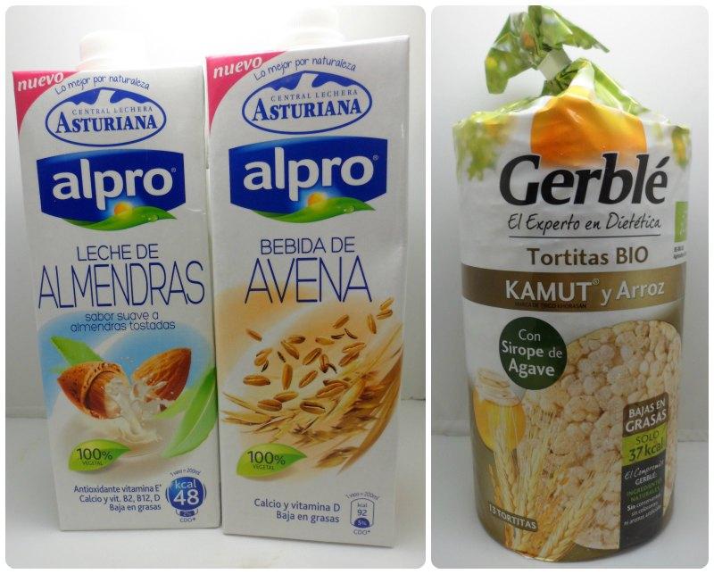 Alpro Lechera Asturiana y Gerblé