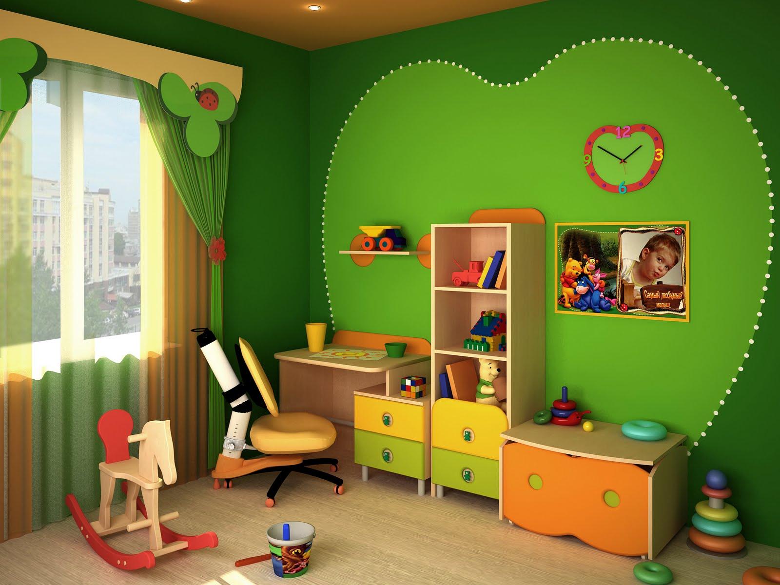 Оформление детской комнаты, фото. красивые детские комнаты -.