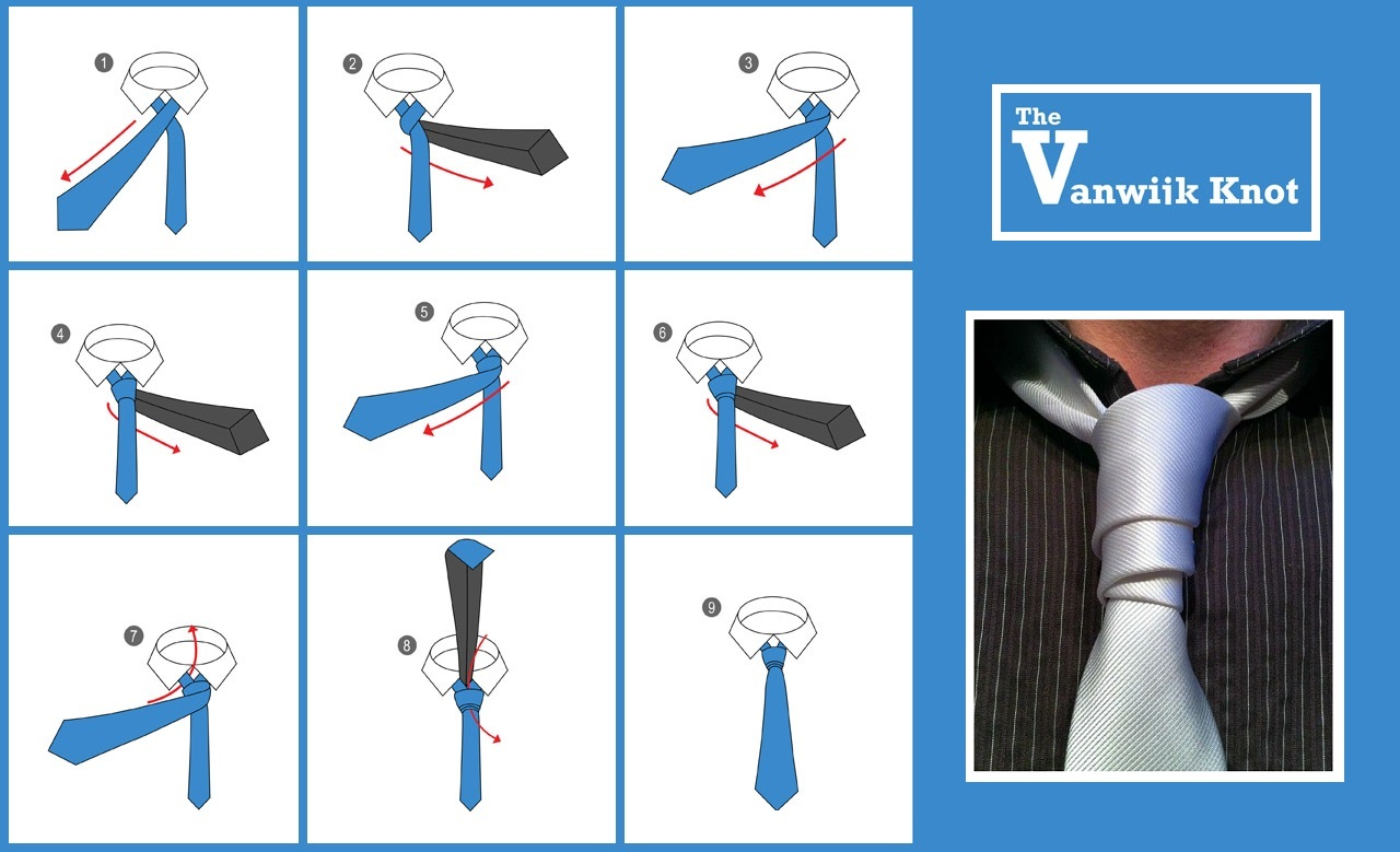 10 Different Cool Ways to Tie a Tie That Every Man Should Know - photo#27