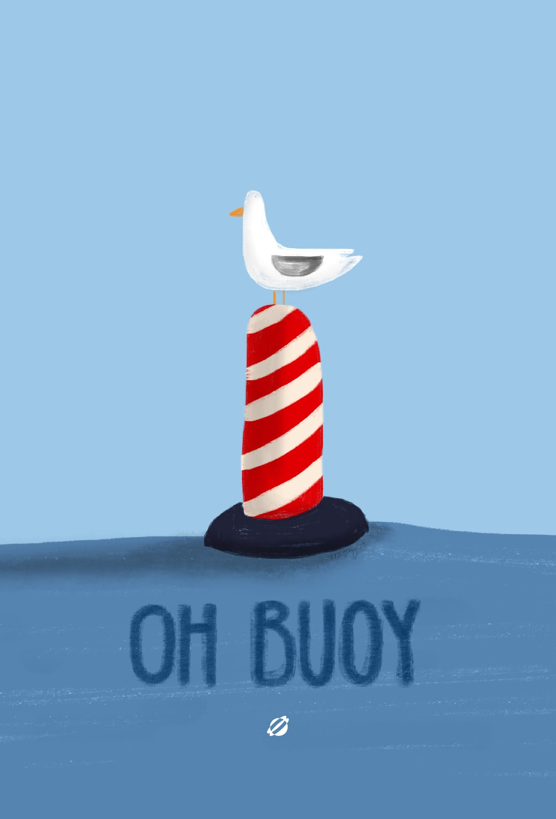 LostBumblebee ©2014 - MDBN - Oh Buoy! Free Printable Personal Use ONLY