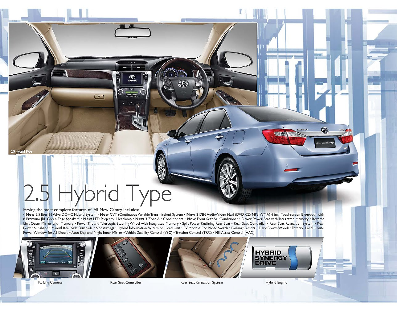 Brosur Toyota All New Camry 2015