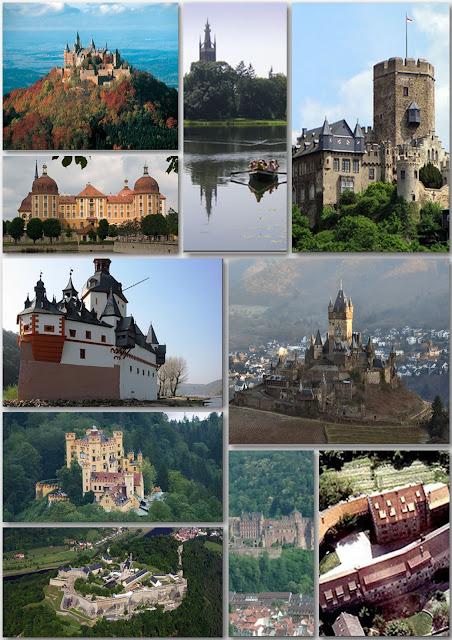 Castillos de Alemania (Parte I)