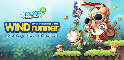 LINE WIND runner apk for android