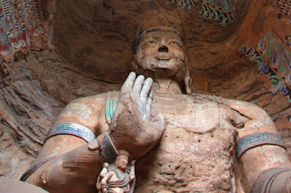 The Fifth Grottoes, visiting it in your China trave tour and travel package to experience buddhism in China.