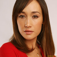 Maggie Q Three Kingdoms Resurrection of the Dragon portrait during the 2008 Tribeca Film Festival