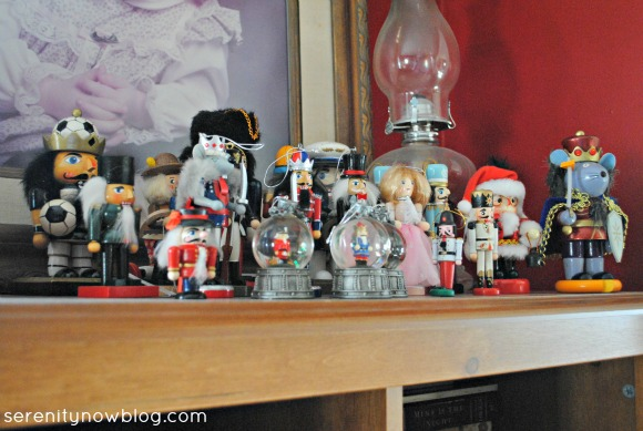 Decorating with Nutcrackers, Serenity Now blog