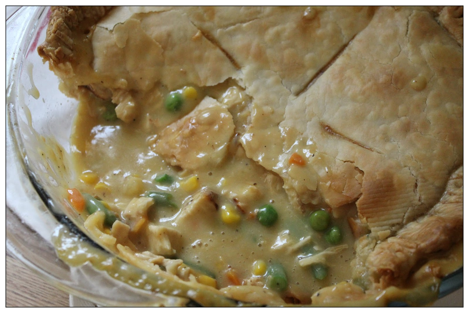 The Rickett Chronicles: {Recipe} Quick Deep Dish Chicken Pot Pie