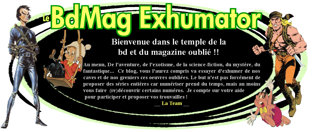 Le Bd Mag Exhumator