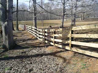 Деревянный забор. Фото 83