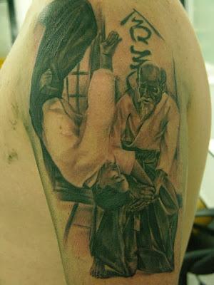 Aikido Tattoo