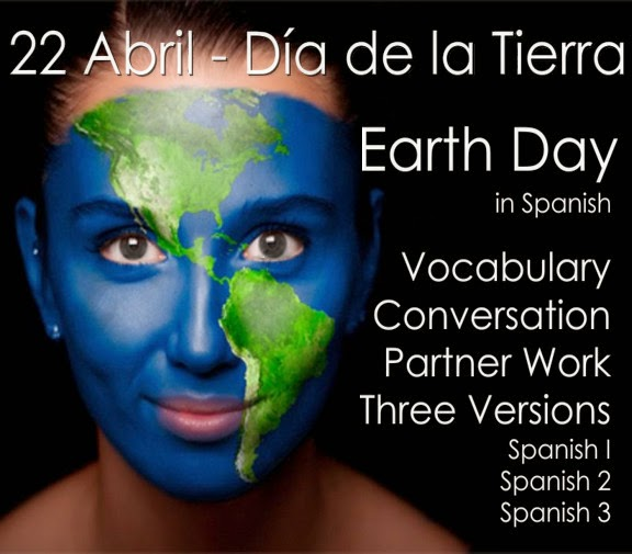 http://www.teacherspayteachers.com/Product/Dia-de-la-Tierra-Earth-Day-in-Spanish-1196784