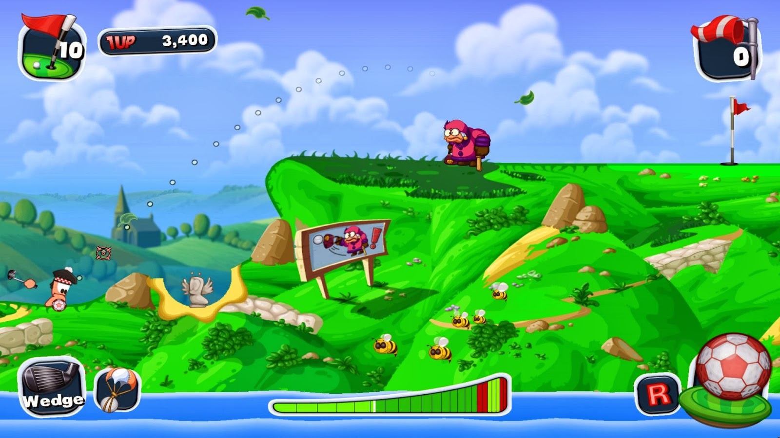 Worms Crazy Golf review