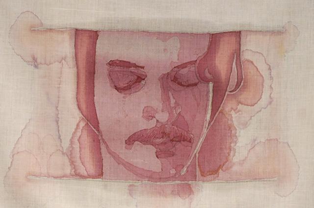 Doctor Ojiplático. Amelia Fais Harnas. Wine Stain Portraits