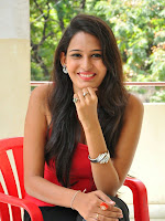 Swetha Jadhav glam pics in red top-cover-photo