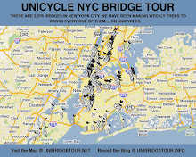 MAP OF NYC BRIDGES CROSSED