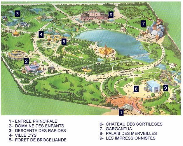 Mirapolis Ville D Ys Plan