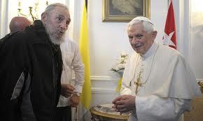 Fidel y Benedicto