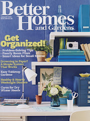Featured in Better Homes & Gardens January 2012