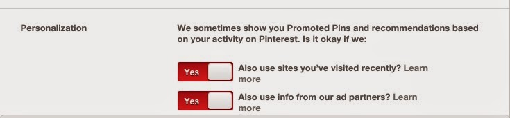 How to turn off promoted pins and recommendations :: OrganizingMadeFun.com