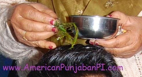 American Punjabi wedding ceremony