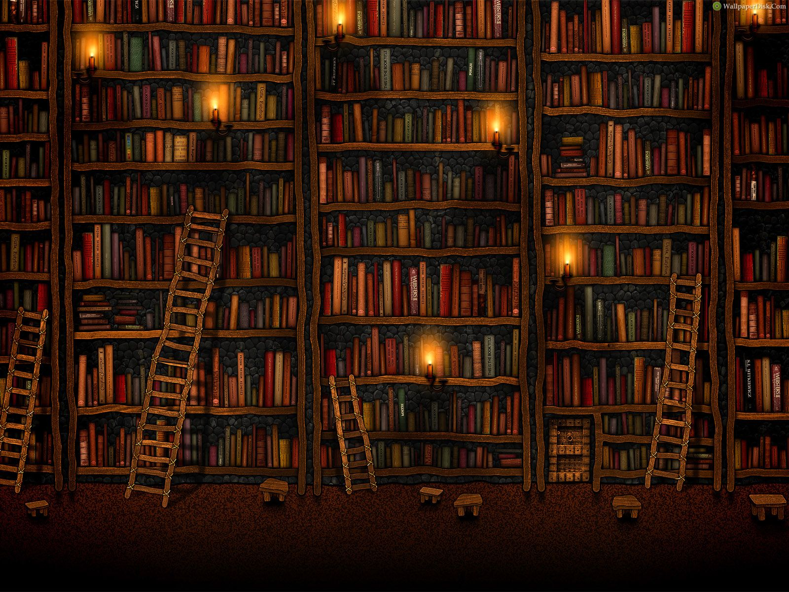 Background Poster Pics: Background Of A Library