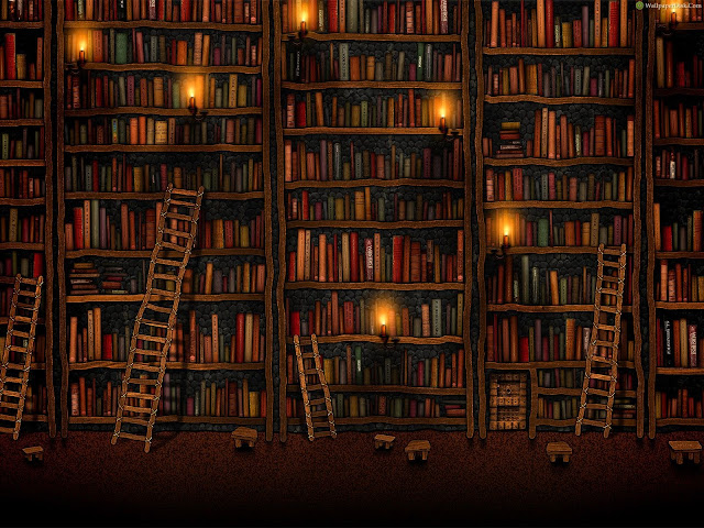 Background Of A Library3