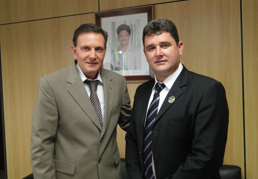 Ministro Marcelo Crivella e Prefeito Arlei em Brasília