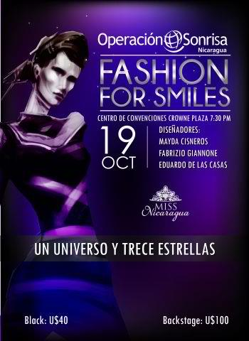 Miss Universe 2012 Fashion for Smiles