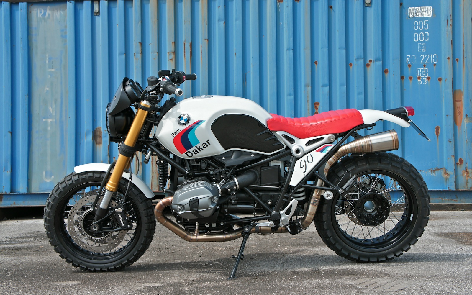 Nine T Paris Dakar Inazuma Caf 233 Racer