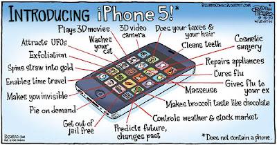 Tampilan & Fitur Apple iPhone 5 Baru