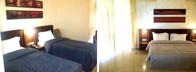 The Avenue Suites bedroom