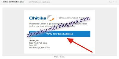 Cara Mendaftarkan Blog ke Chitika