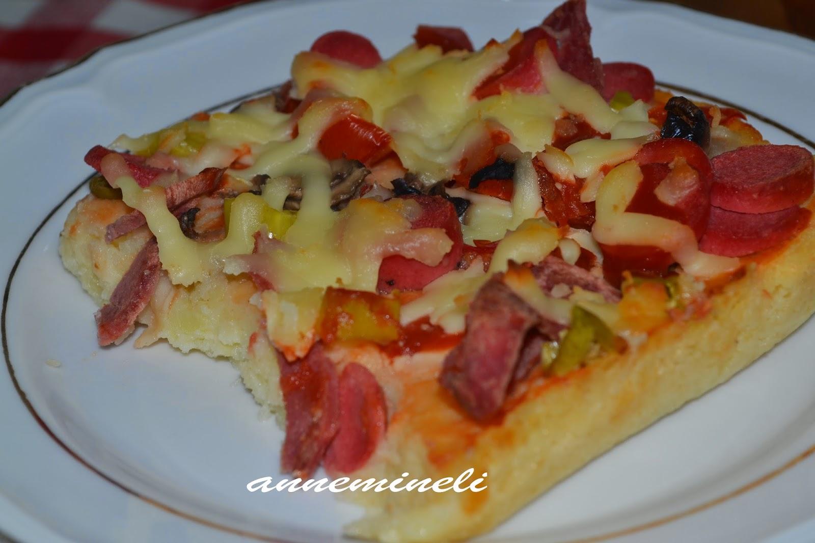 Patates Pizzası Tarifi Denenmiş Tarifi