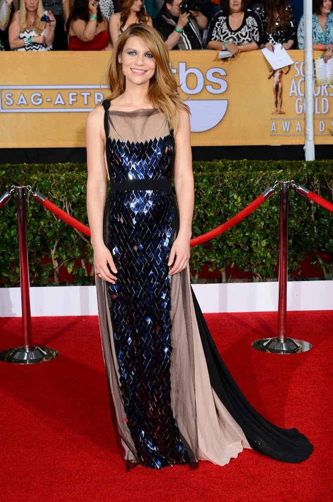 Claire Danes in Vionnet at the SAG awards