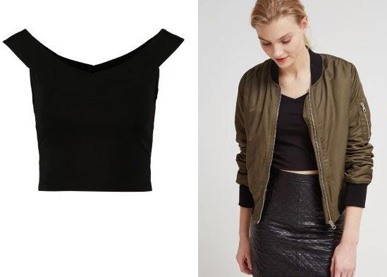 El top negro que os proponemos hoy y cómo combinarlo perfectamente con una falda