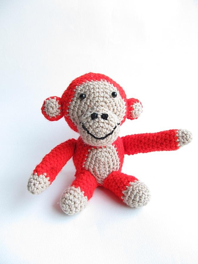 Free Pattern Crochet Monkey : {Monkey Business - A free crochet pattern} - Little Things ...