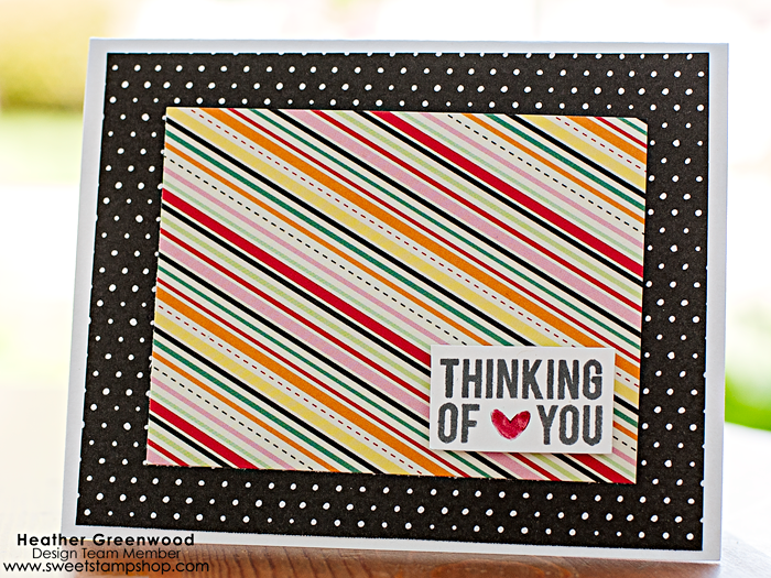 handmade card by Heather Greenwood, using Condolences stamp set by Sweet Stamp Shop