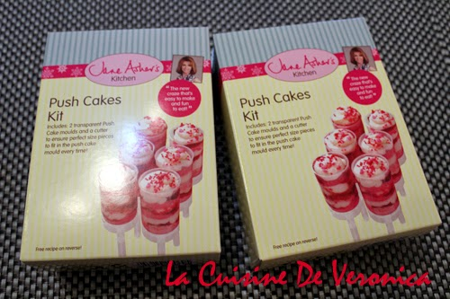 La Cuisine De Veronica Push Cake Kit