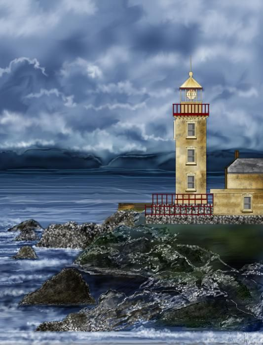 Fanad Head Lighthouse,Ireland