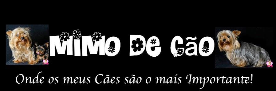 MIMO DE CÃO