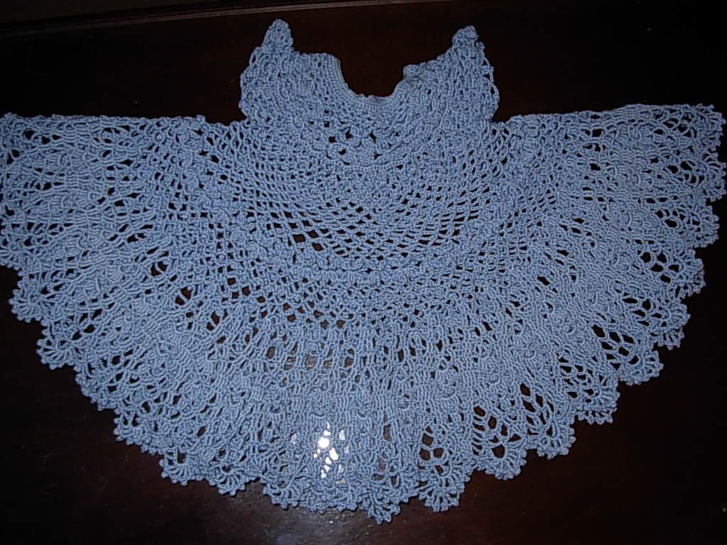 Crochet baby dress pattern free crochet patterns