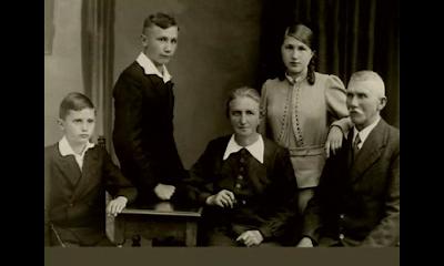 Foto: Joseph Ratzinger e família