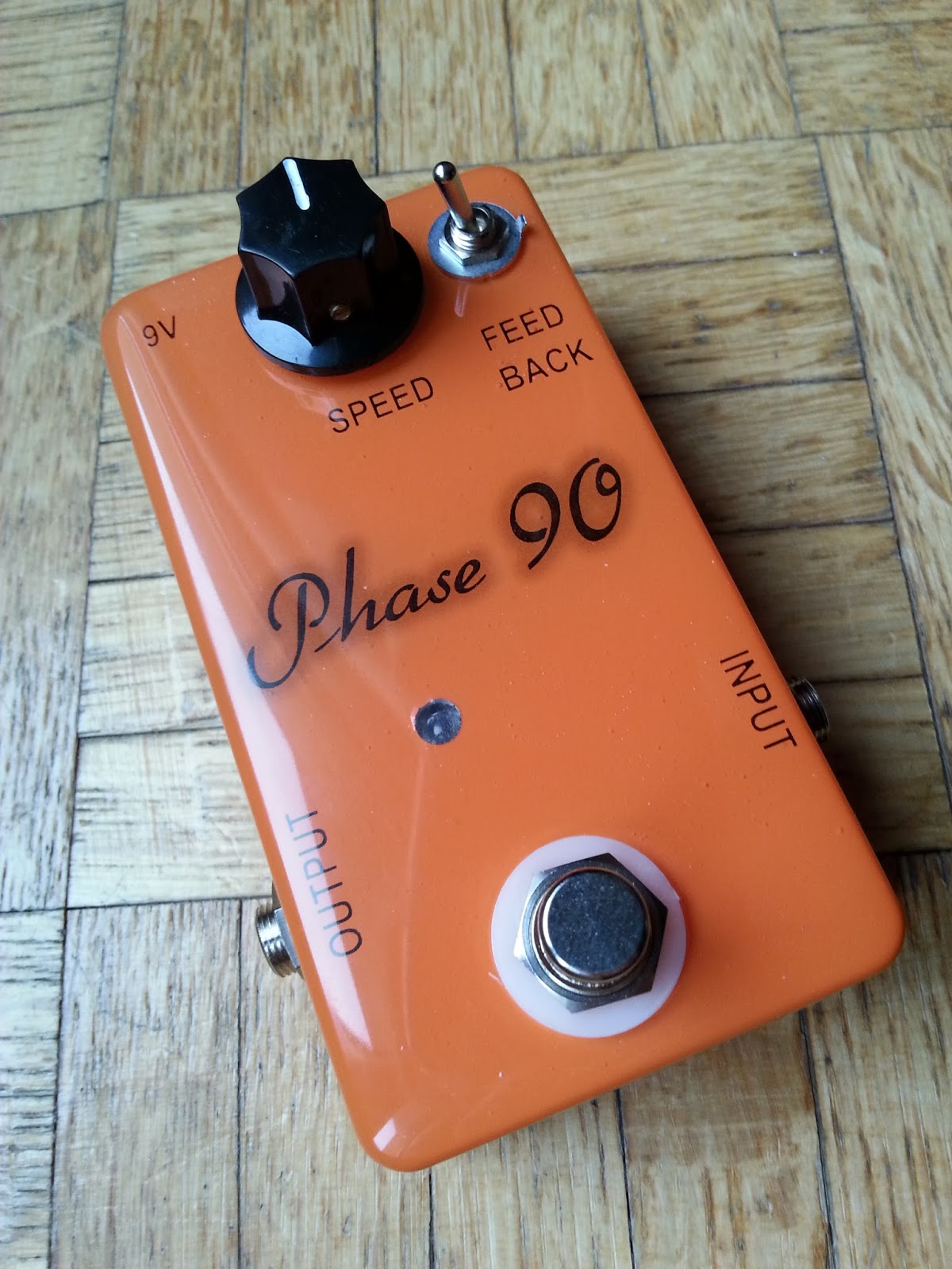 Diy Guitar Pedal Blog Pictures Of My Clyde Mccoy Clone Complete With Jfet Output Buffer Build