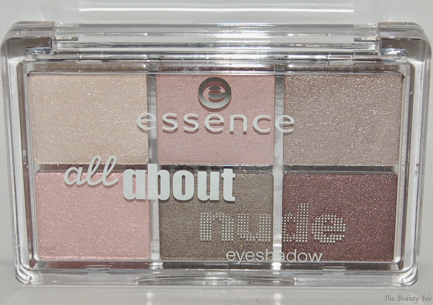 essence cosmetics all about nude eye shadow palette