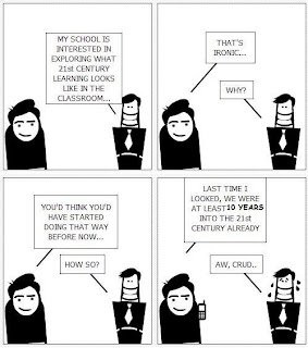 comic beginning twenty-first century teaching ten years into the twenty-first century