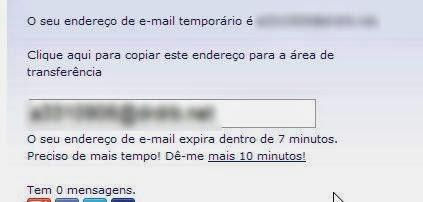 Como criar um email Falso Temporário