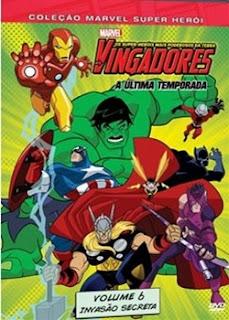 Os Vingadores   Os Super Heróis Mais Poderosos da Terra   Vol. 6   DVDRip AVI + RMVB Dublado