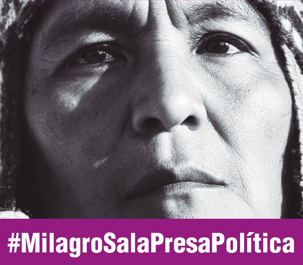 #MilagroSalaPresaPolítica