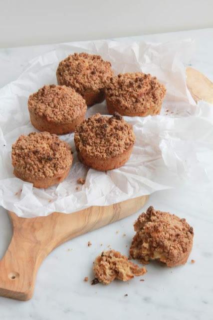 appelkruimel muffins - www.desmaakvancecile.com