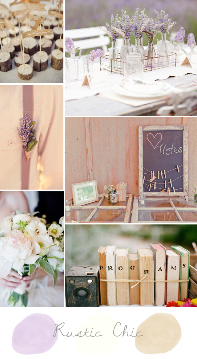 #rusticweddinginspirationboard